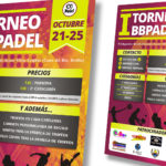BB PADEL - Cartel A3