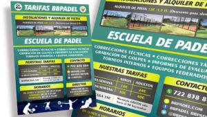 BB PADEL - Poster A1
