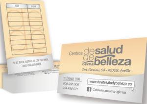 CENTRO DE SALUD Y BELLEZA DEYDE - Tarjetas