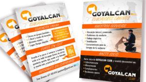 GOYALCAN EDUCADORES CANINOS - Flyers A6