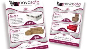 NOVASOFÁ - Flyer A5