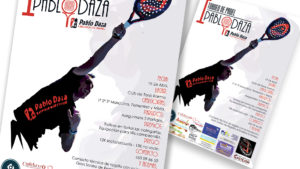 PABLO DAZA PADEL - Cartel I Torneo Pablo Daza