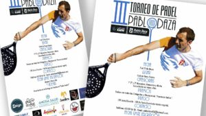 PABLO DAZA PADEL - Cartel III Torneo Pablo Daza