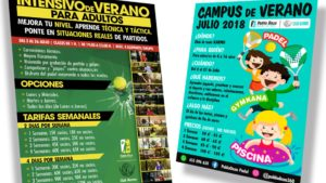 PABLO DAZA PADEL - Intensivo y Campus de verano 2018