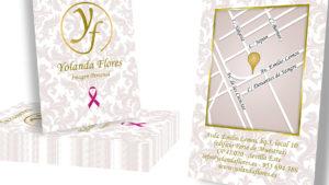 CAMERINO YOLANDA FLORES - Tarjeta