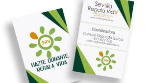 SRV SEVILLA REGALA VIDA - Tarjetas