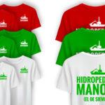 HIDROPEDALES MANOLO - Camisetas
