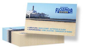 FLOZAGA GUTERH - Tarjetas