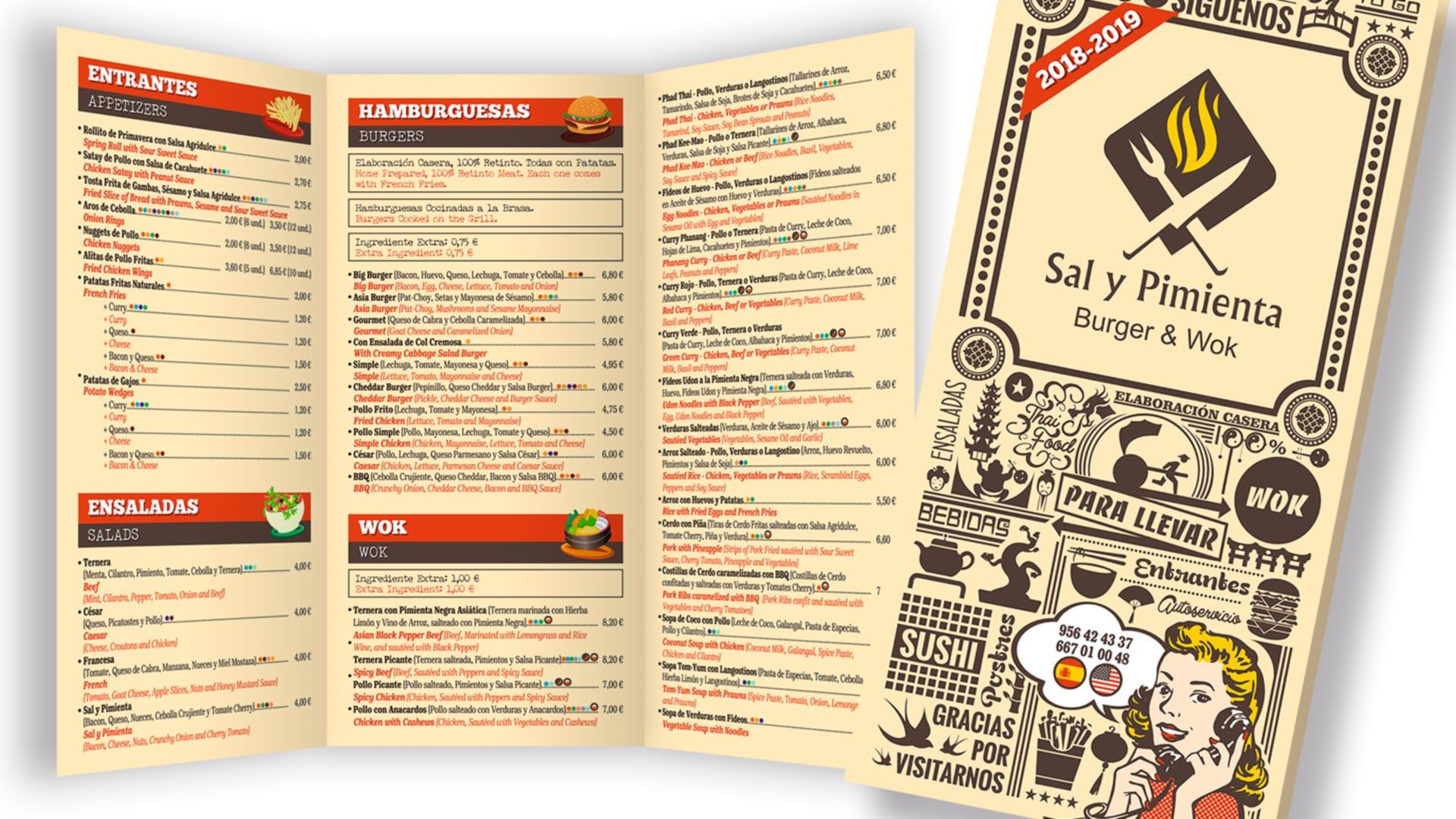 Sal y Pimienta Burger & Wok