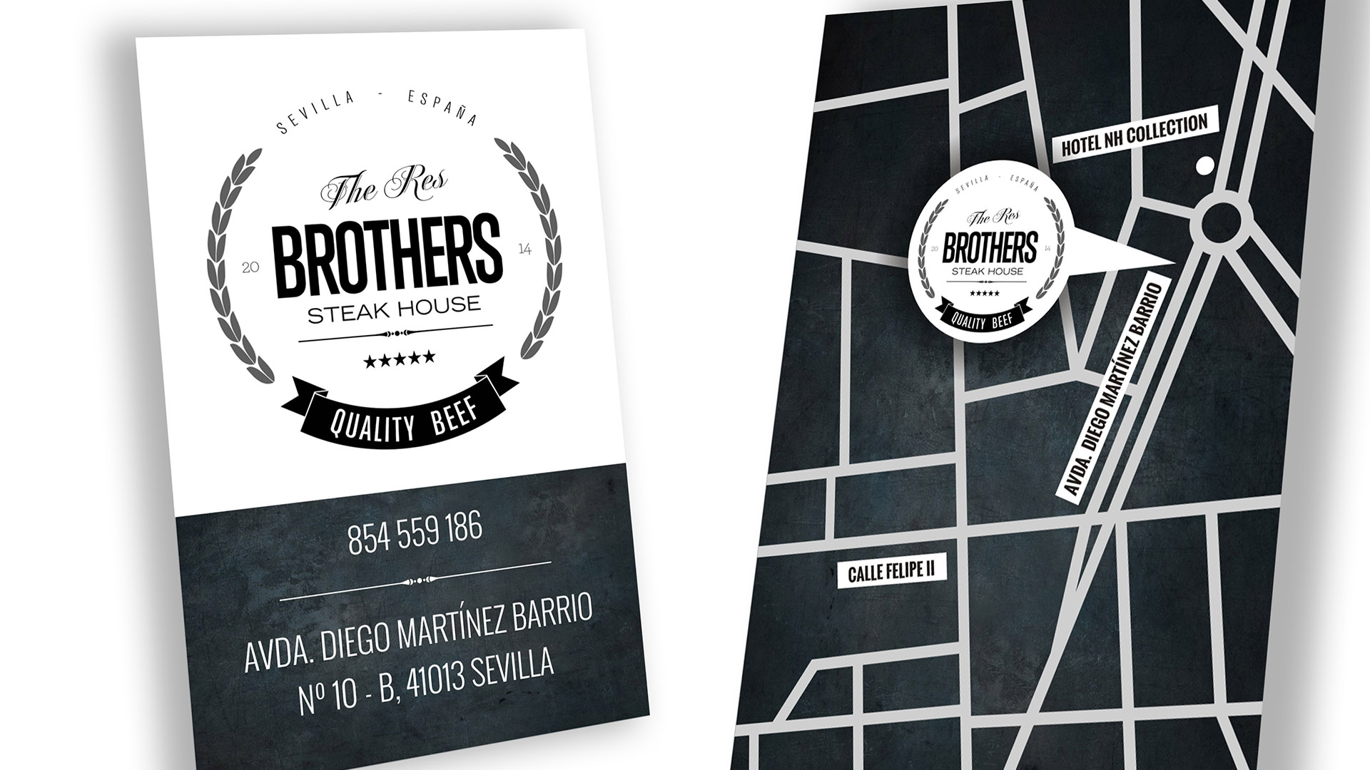 THE RES BROTHERS - Tarjetas