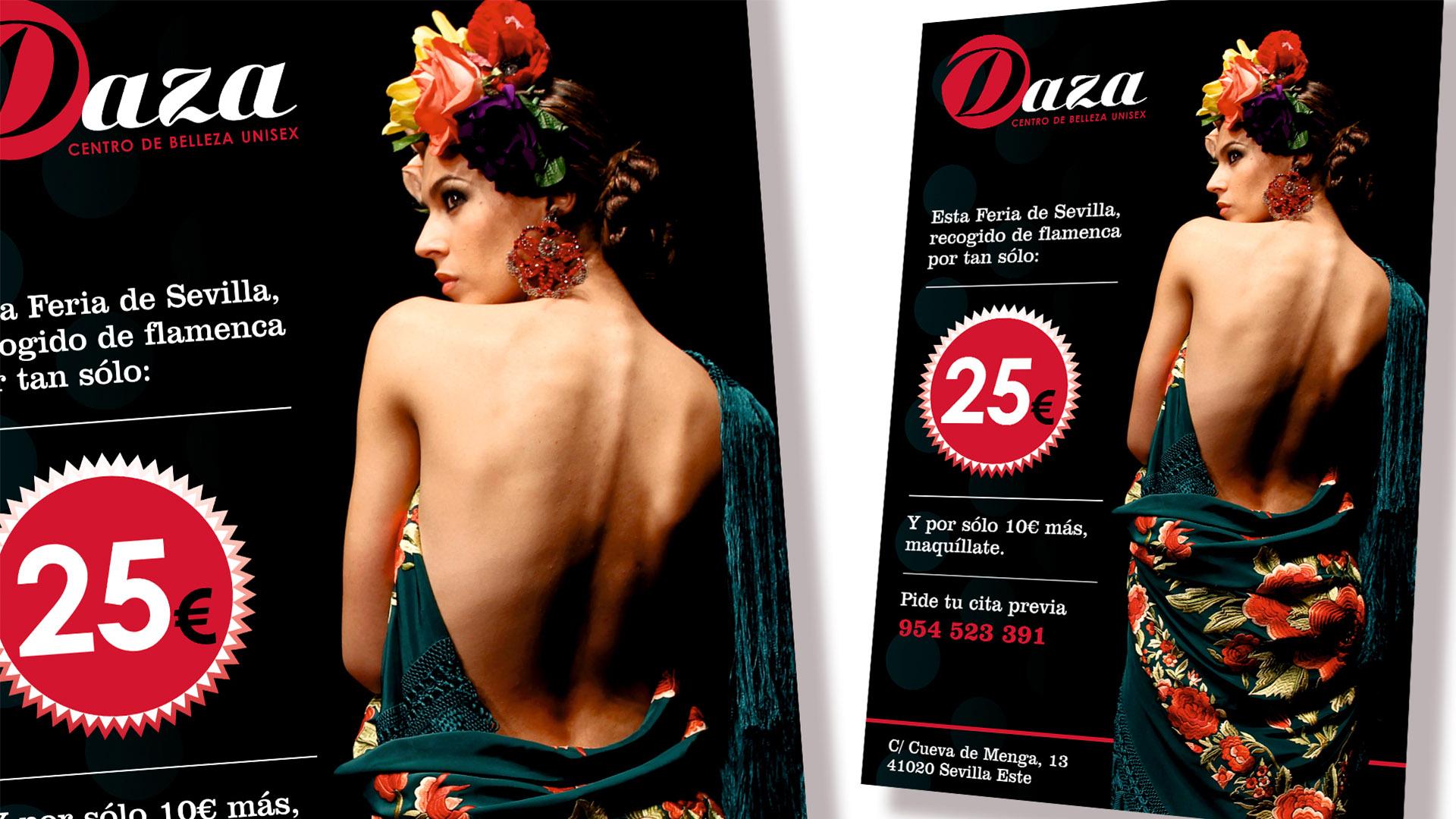 CENTRO DE BELLEZA DAZA - Cartel Feria