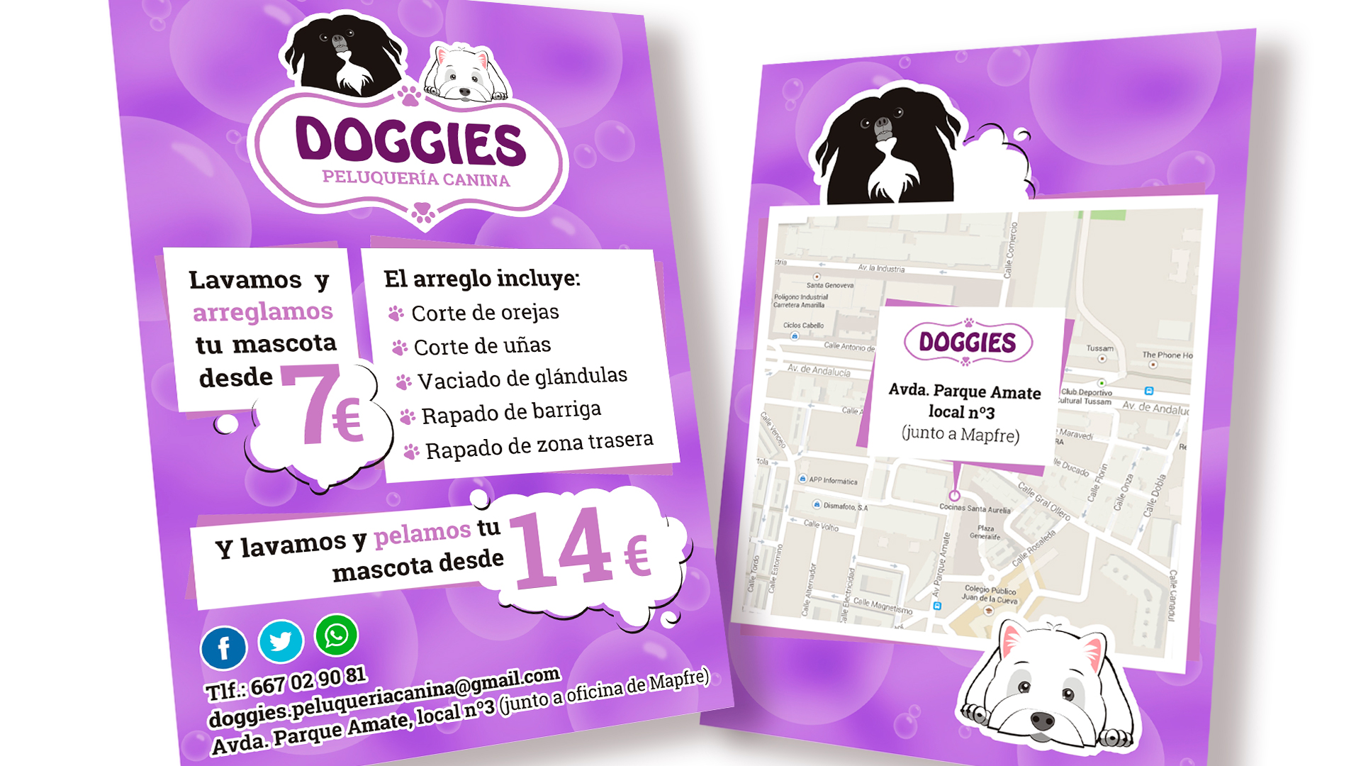 DOGGIES - Flyers