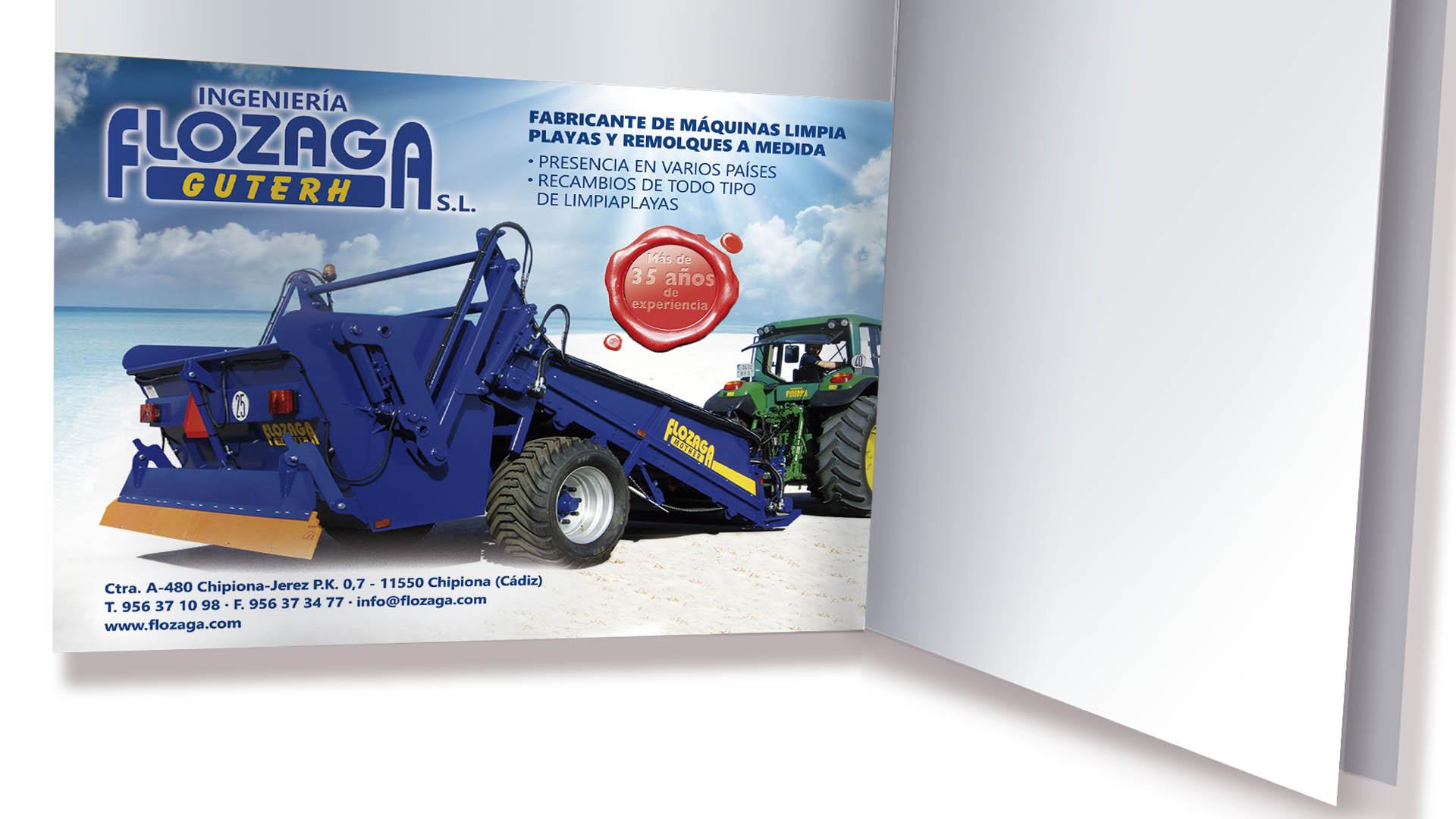 FLOZAGA GUTERH - Anuncio Revista