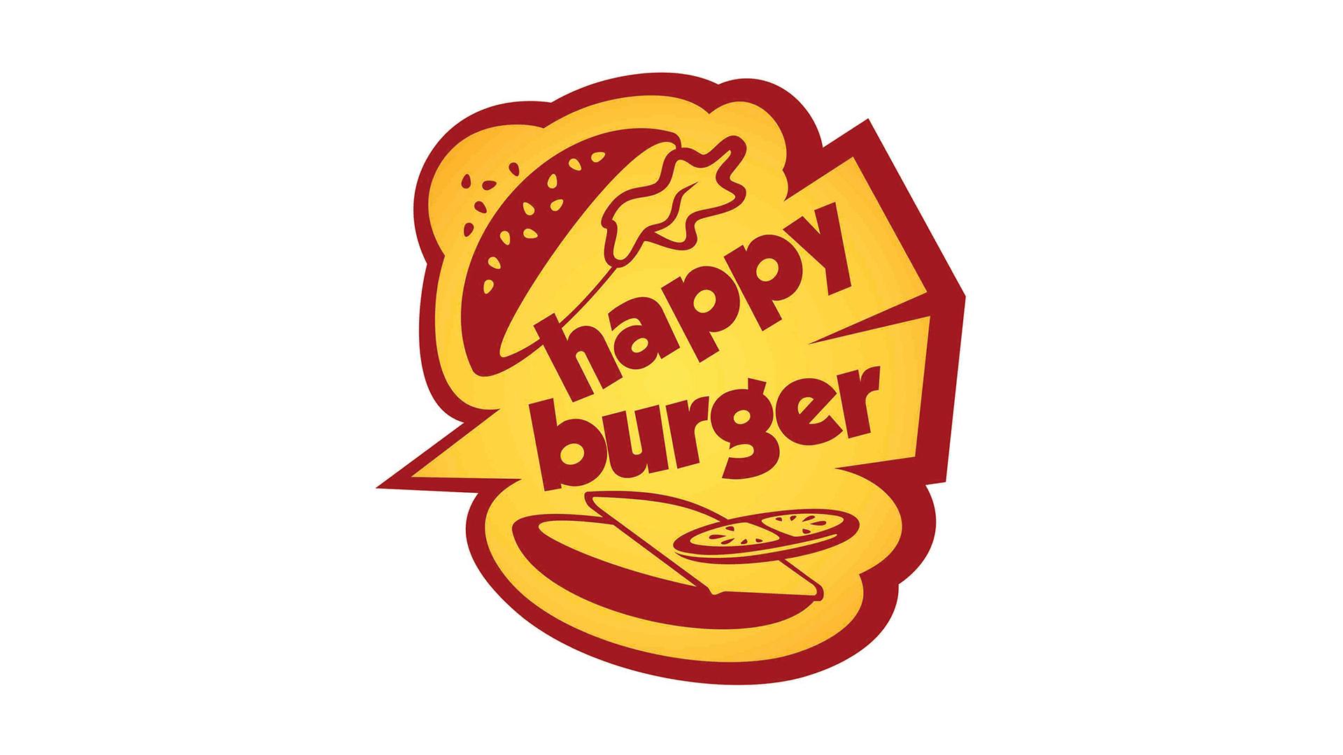 HAPPY BURGER - Logotipo