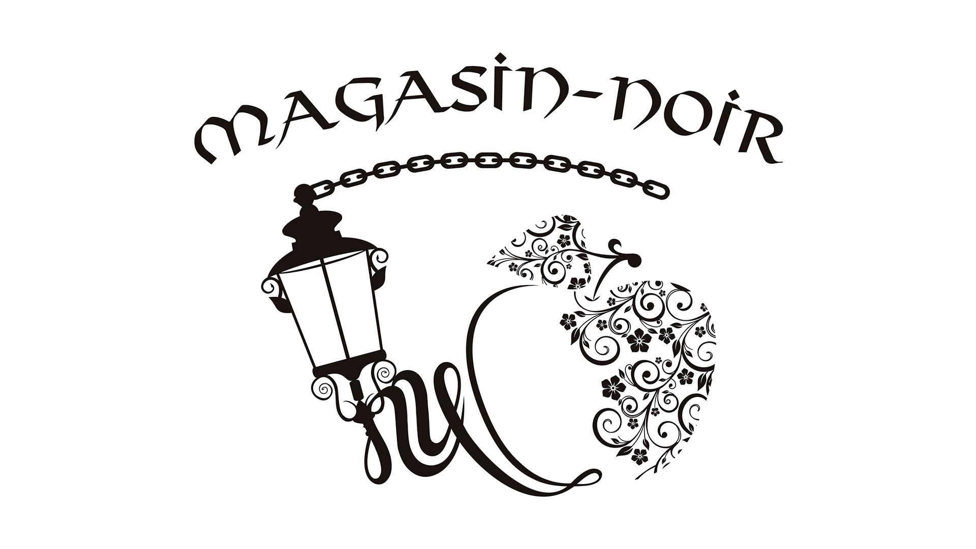 MAGASIN-NOIR - Logotipo