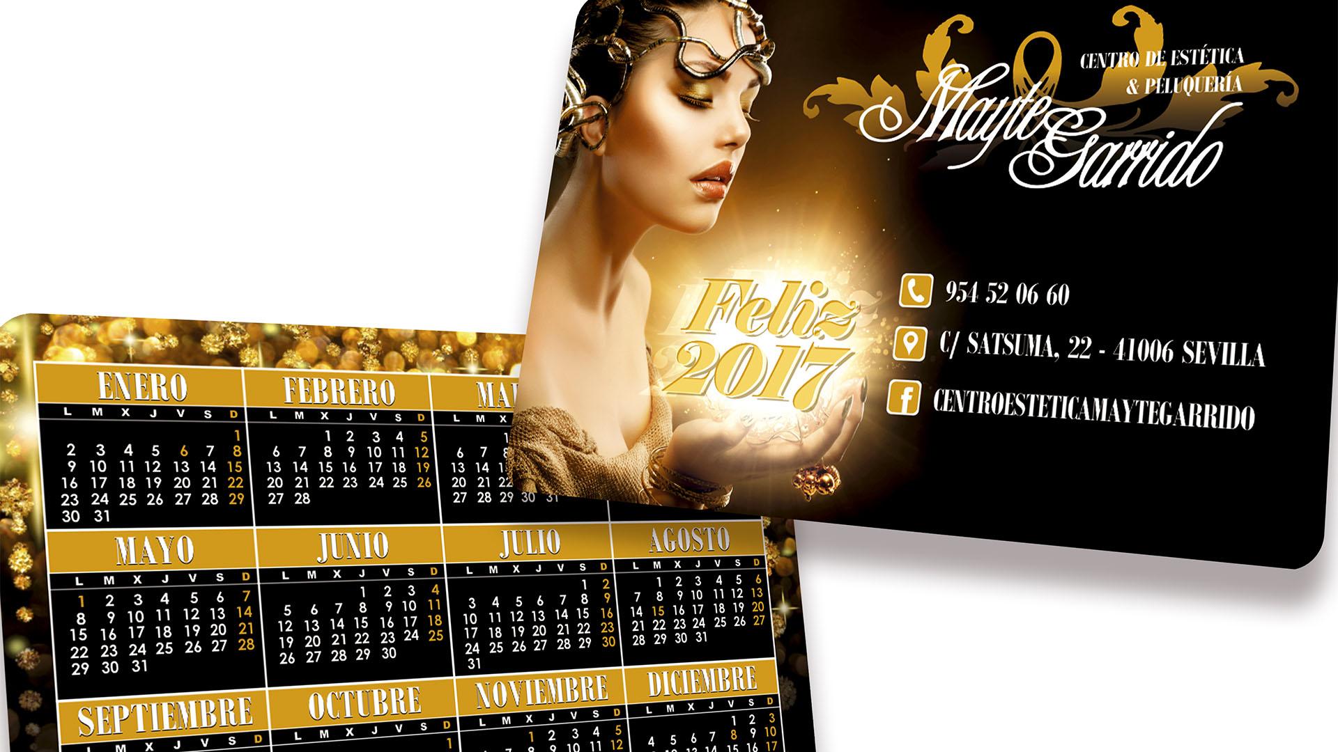 MAYTE GARRIDO - Calendario de bolsillo