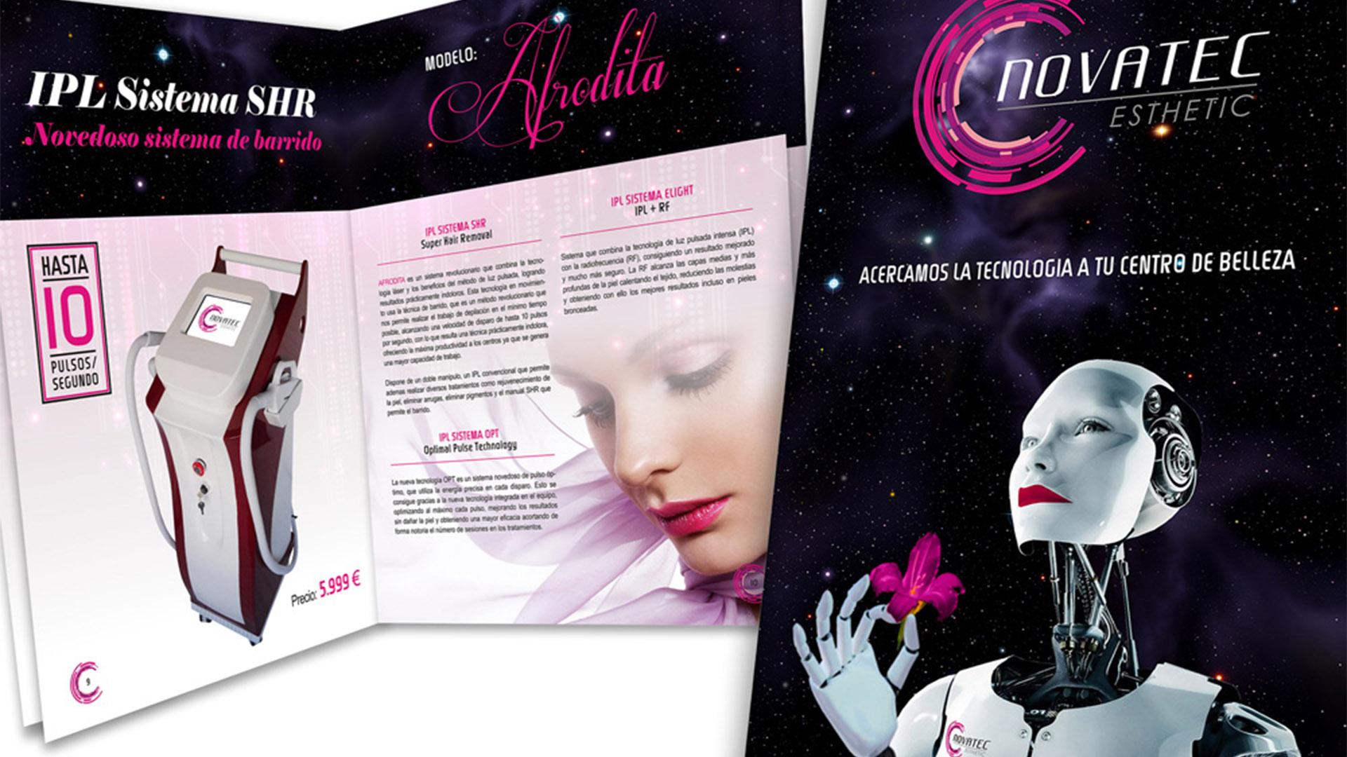 NOVATEC ESTHETIC - Catálogo A4