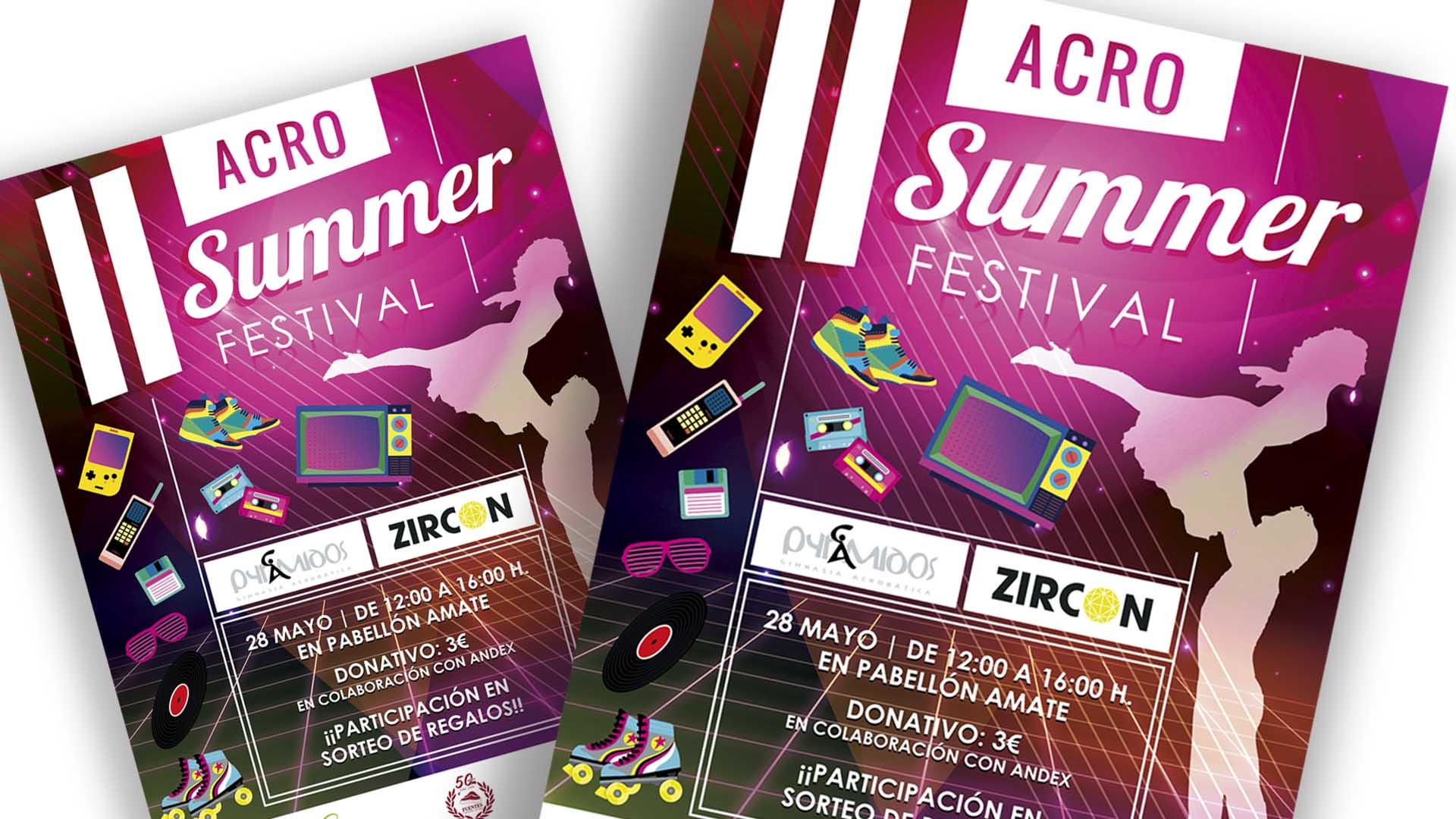 ZIRCON EVENTOS - Cartel II Acro Summer Festival