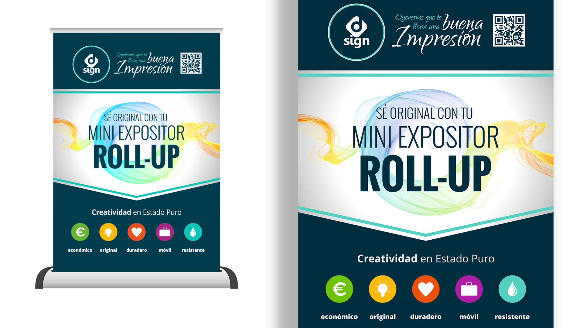 D·SIGN - Roll Up Mini