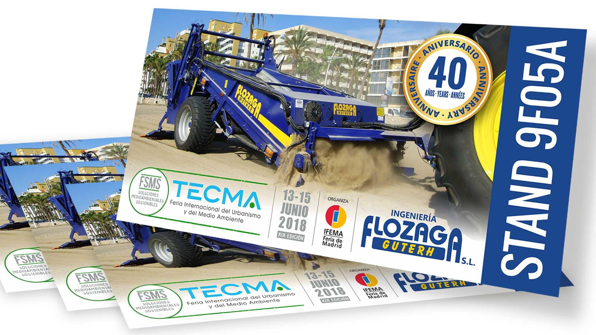 FLOZAGA GUTERH - Invitación TECMA 2018