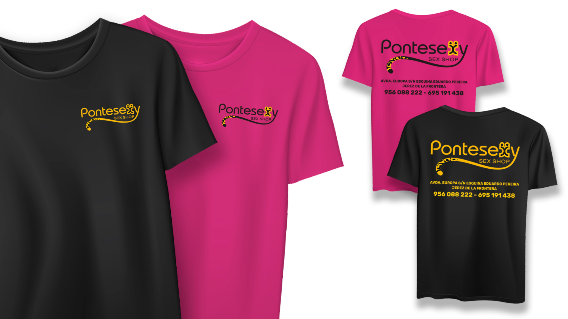 PONTESEXY - Camisetas de manga corta