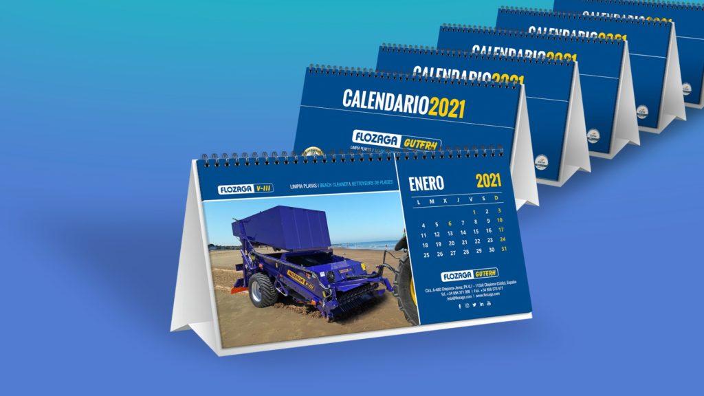 FLOZAGA - Calendarios de mesa