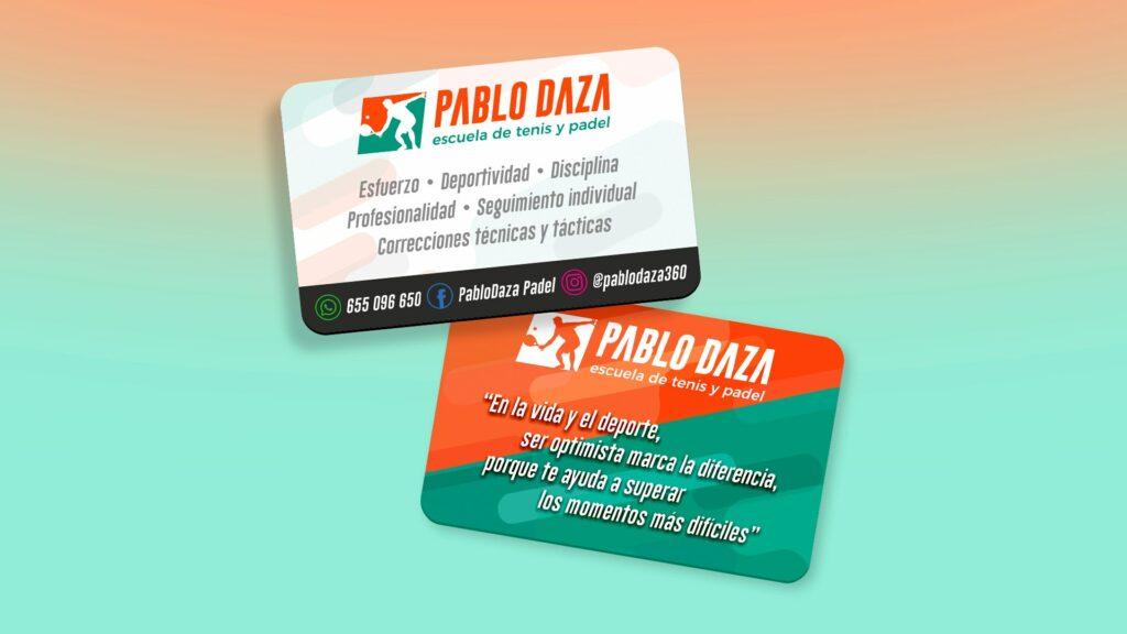 PABLO DAZA - Tarjeta